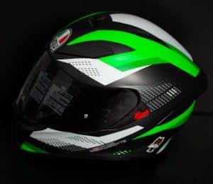 AGV-Full-Face-Motorcycle-helmet-Green