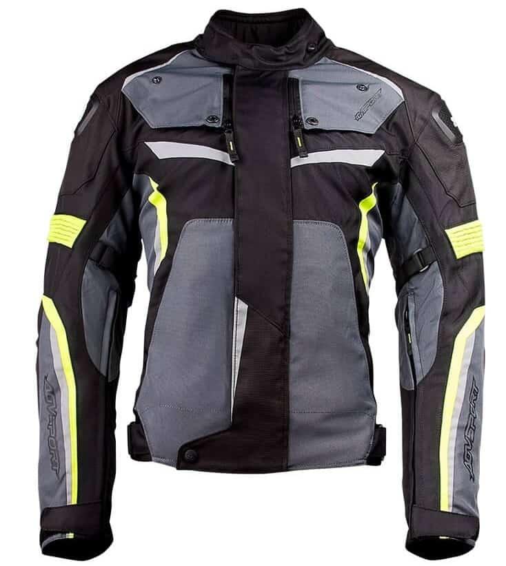 Flex-Tex-Neon-Yellow-Front-motorcycle-textile-jacket (2)