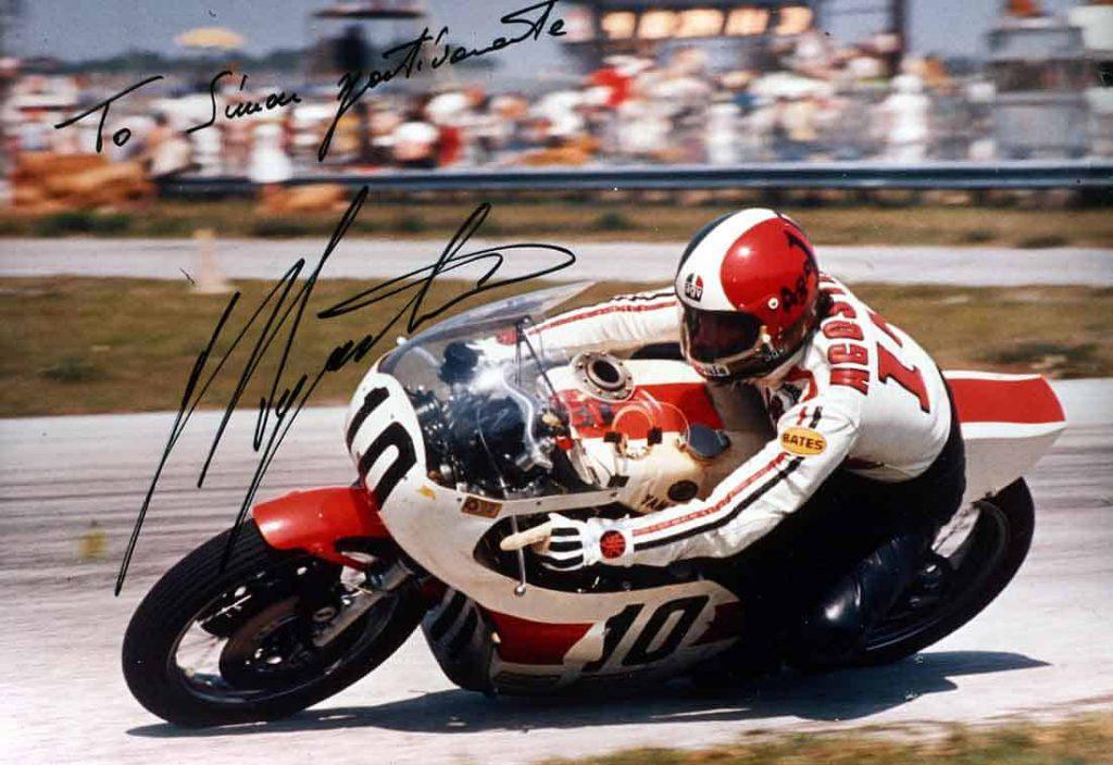 Giacomo-Agostini-AGV-Helmets-15 times World Champion