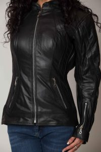 Xena-ladies-Leather-jacket-4-scaled-Checking-for-proper-fit-agv-sport