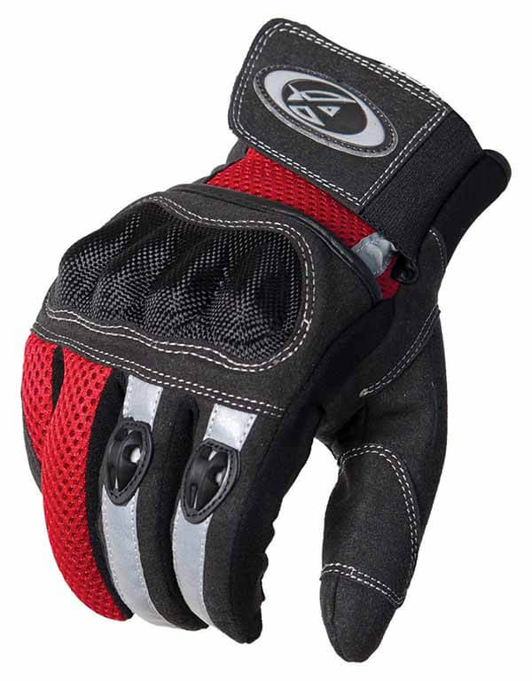 AGVSPORT-Mercury-Motorcycle-glove-Black-Red-White-Benefits-of-Motorcycle-Gloves